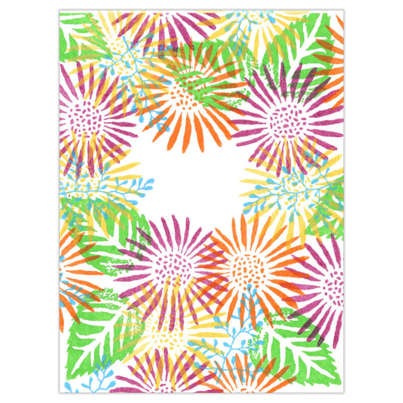 Sunny Daisy by Rubber Stamp Tapestry