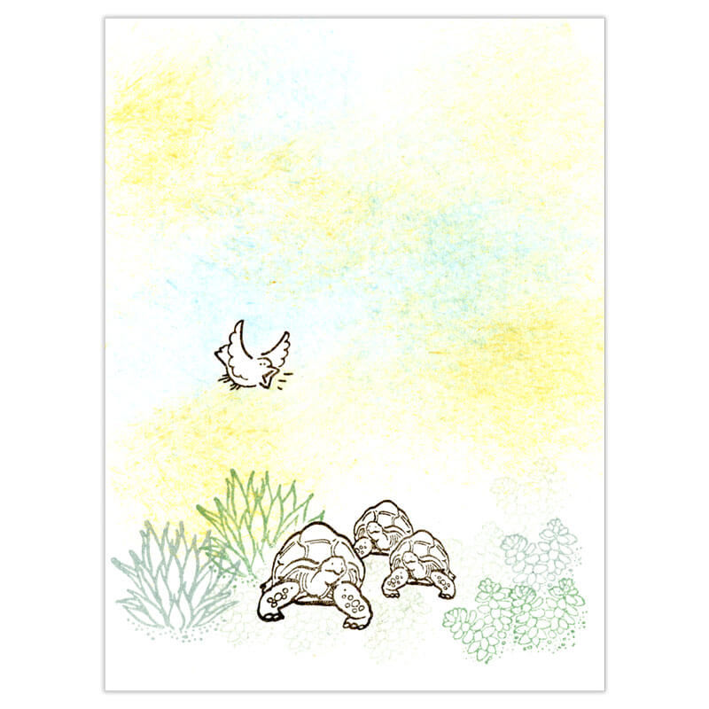 Sonoran Sunset Peg Stamp Set by Rubber Stamp Tapestry