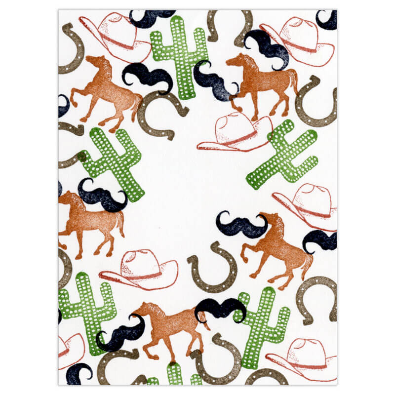 Giddyup!  Peg Stamp Set by Rubber Stamp Tapestry
