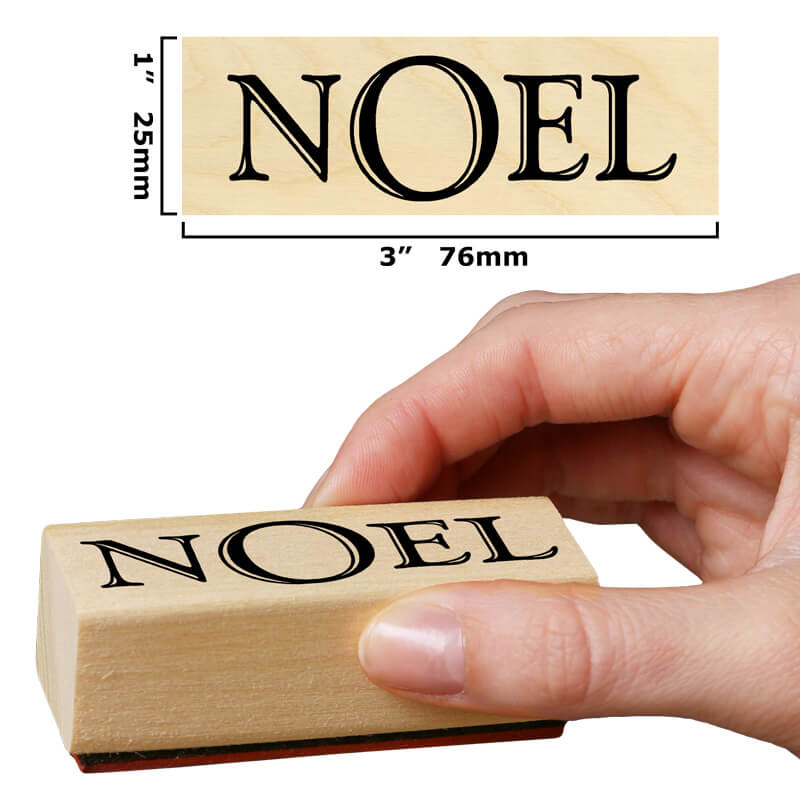 Noel (Bold) by Rubber Stamp Tapestry