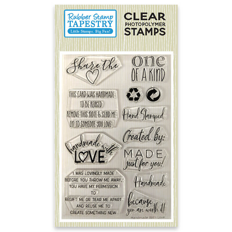 Handmade with Love - Clear Stamp Set