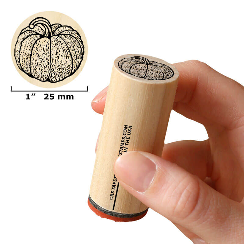 Plump Pumpkin by Rubber Stamp Tapestry