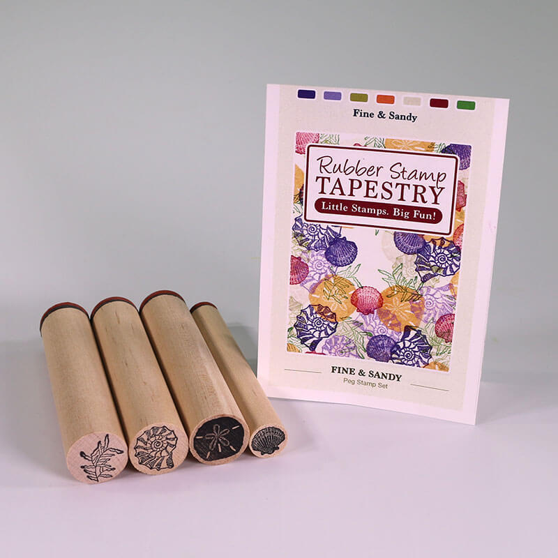 Fine and Sandy by Rubber Stamp Tapestry
