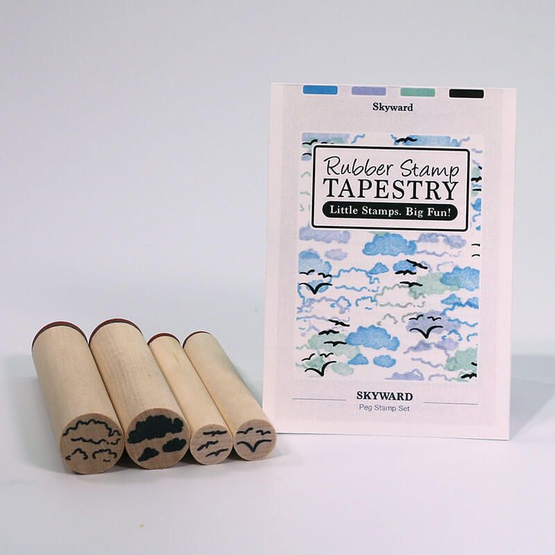 Skyward by Rubber Stamp Tapestry