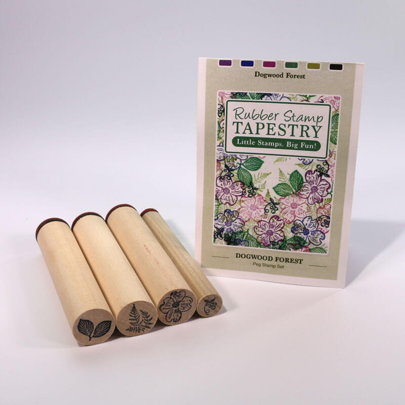 Dogwood Forest by Rubber Stamp Tapestry
