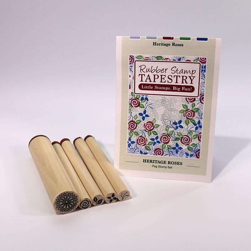 Heritage Roses by Rubber Stamp Tapestry