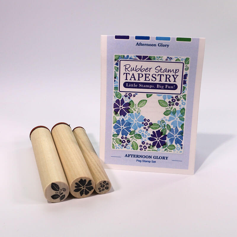 Afternoon Glory by Rubber Stamp Tapestry