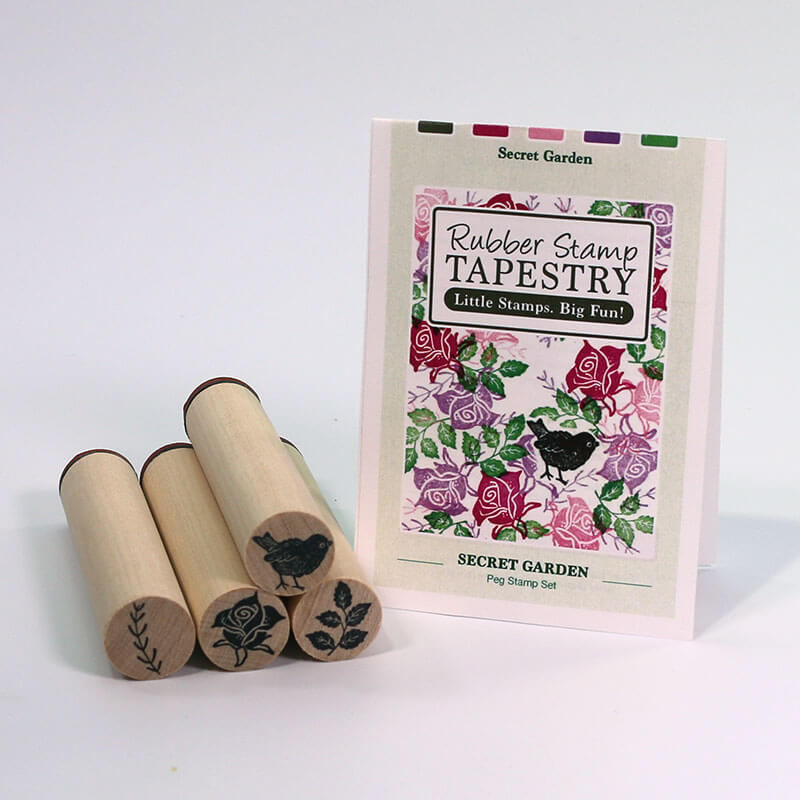 Secret Garden by Rubber Stamp Tapestry