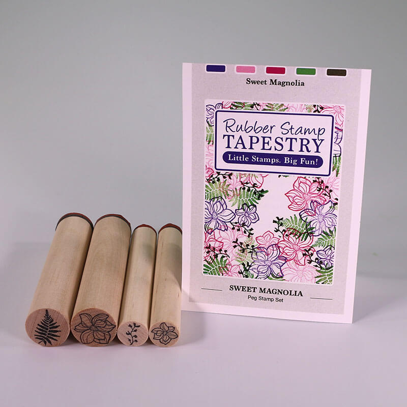 Sweet Magnolia by Rubber Stamp Tapestry