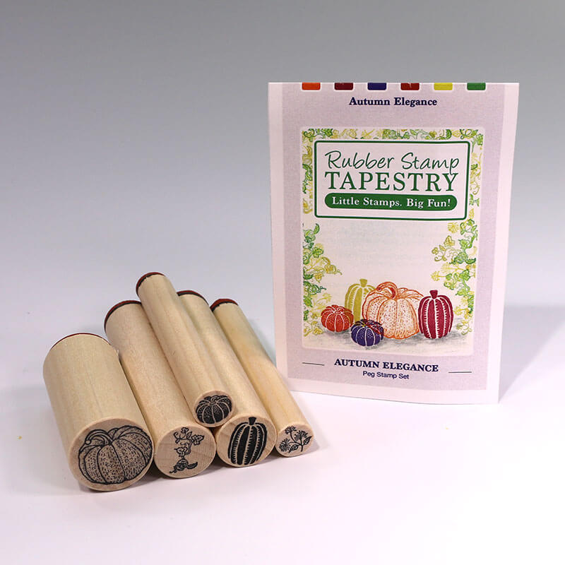 Autumn Elegance by Rubber Stamp Tapestry