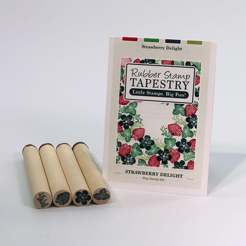 Strawberry Delight by Rubber Stamp Tapestry