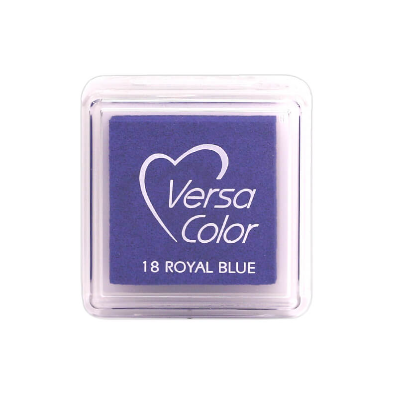 VersaColor™ Royal Blue Ink - Cube Pad by Tsukineko