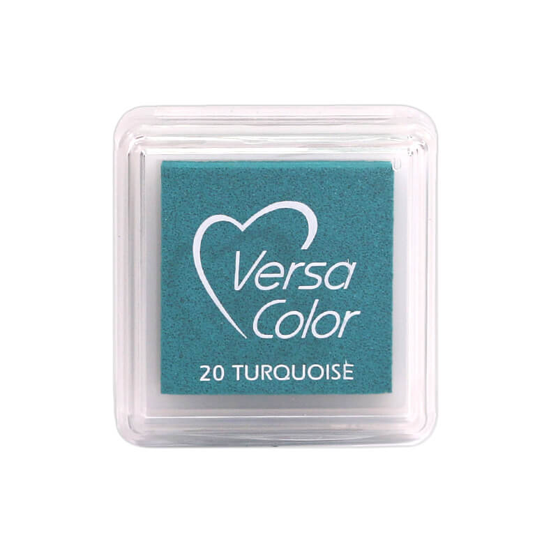 VersaColor™ Turquoise Ink - Cube Pad by Tsukineko