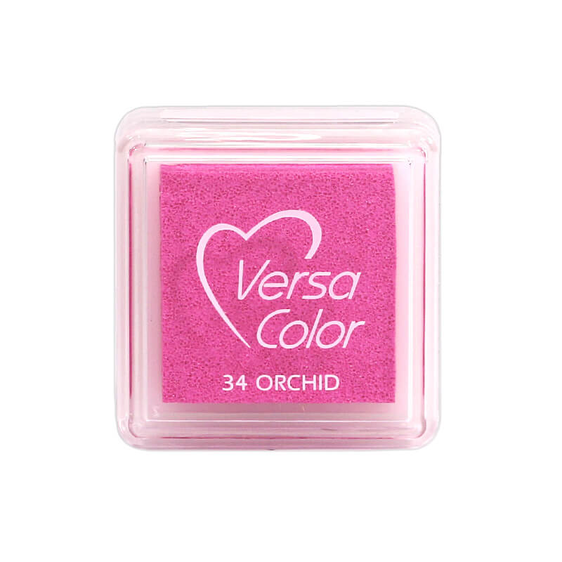 VersaColor™ Orchid Ink - Cube Pad by Tsukineko