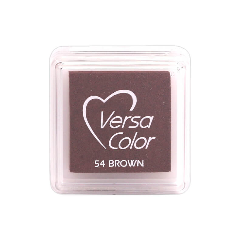 VersaColor™ Brown Ink - Cube Pad by Tsukineko