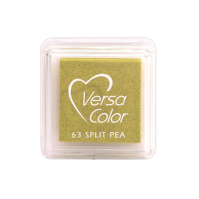 VersaColor™ Split Pea Ink - Cube Pad by Tsukineko