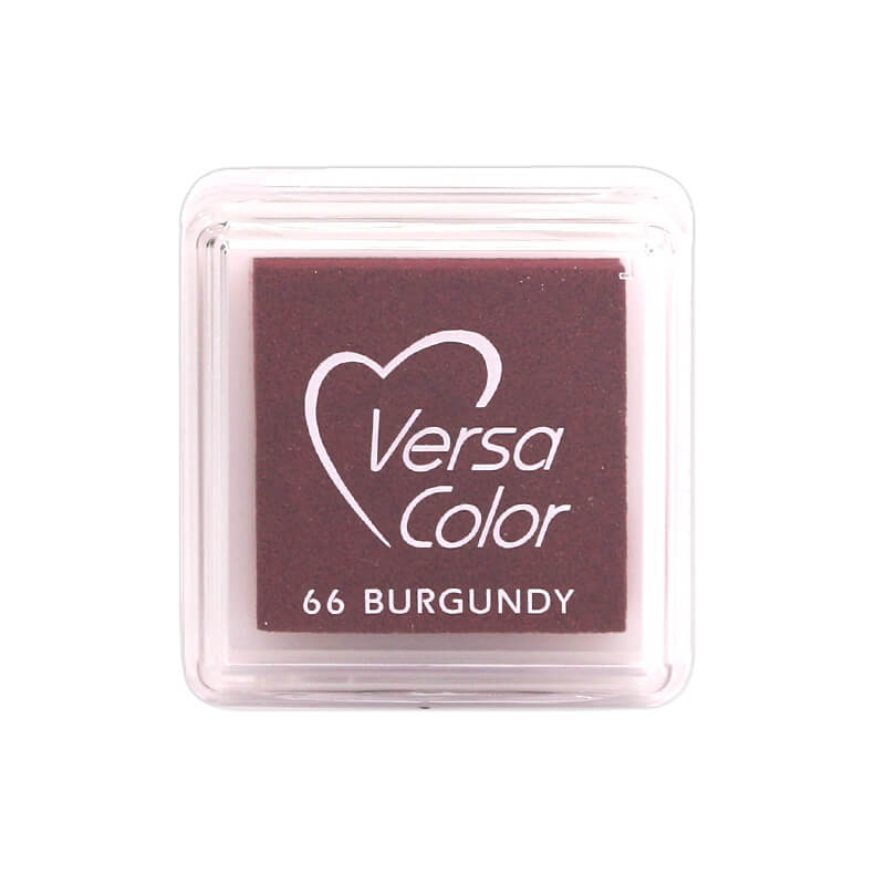 VersaColor™ Burgundy Ink - Cube Pad by Tsukineko