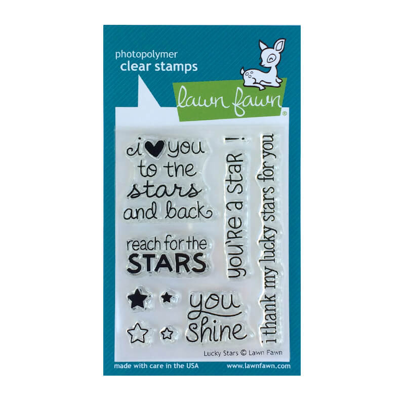 Lawn Fawn - Lucky Stars Clear Stamps  - Clear Stamp Set